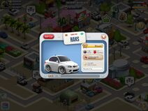 BMW m3 picture and Hans license plate