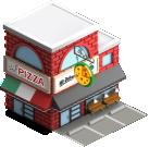 Business pizza shop