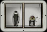 Police station corridor