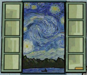 Rusty lake van gogh