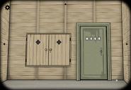Mill middle door