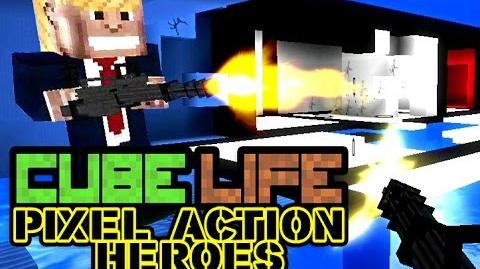 Cube Life Pixel Action Heroes - TRAILER official WiiU-0