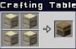 Crafting Table Recipe
