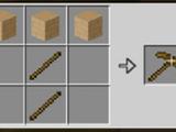 Wooden pickaxe