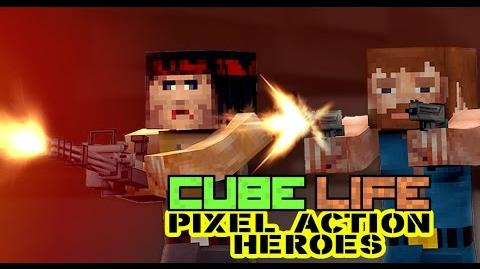 Cube Life Pixel Action Heroes - GAME CHARACTERS official WiiU