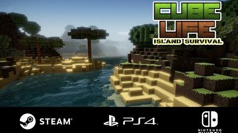 Cube Life Island Survival 2018 - The Official Trailer (Steam PS4 Nintendo Switch)