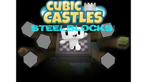 TUTORIAL Cubic Castles - How to make steel blocks!