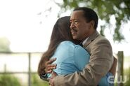 Jessica Lucas as Skye and Obba Babatunde as Quentin
