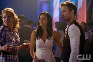 Jessica Lucas as Skye and Matt Davis as Jeff