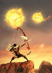 Houyi Shooting the Suns