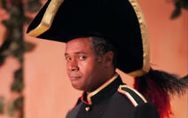 Darryl Maximilian Robinson as Major-General Stanley in The Pirates of Penzance