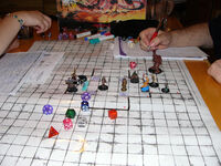Dungeons and Dragons game