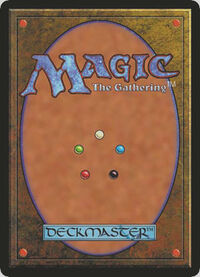 Magic the gathering-card back