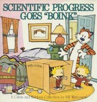 Scientific Progress Goes Boink (Calvin and Hobbes)