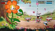 Cuphead screeshot flower-940x528