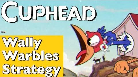 Cuphead - How to Beat Wally Warbles in Aviary Action! Walkthrough Strategy Guide