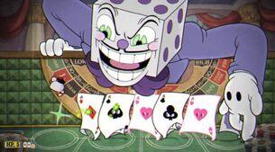 Dice card attack