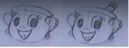 E3 Coliseum Cuphead Workshop Ms. Chalice Sketch 4