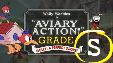 "CUPHEAD (S-Rank) Wally Warbles ""AVIARY ACTION"""