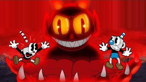 Cuphead The Unused Animation Of The Devil
