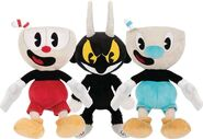 4. All Three Plush Toys