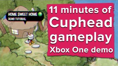 11 minutes of Cuphead gameplay - Xbox One demo (2016)