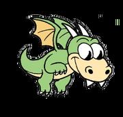 Baby dragon sprite