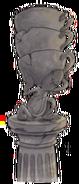 Statue spoon