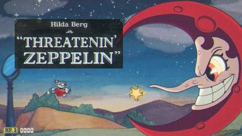 Cuphead - Hilda Berg in Threatenin' Zeppelin