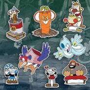 Cuphead Stickers