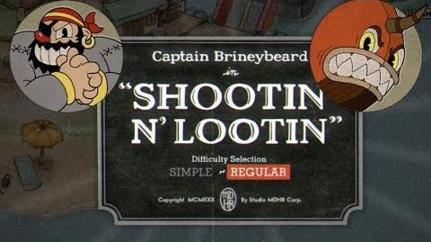 Cuphead - Captain Brineybeard - Shootin n' Lootin(Regular) Grado A+