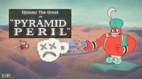 Cuphead - Djimmi The Great in Pyramid Peril