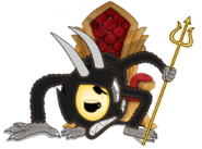 Devil intro throne