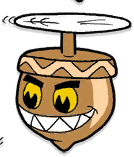 Annoying acorn