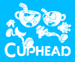 Cuphead logo image hover