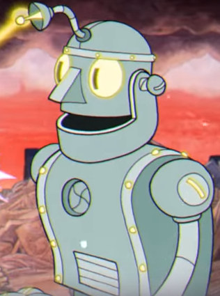 Image result for cuphead robot