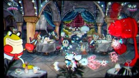 Cuphead - Frog Brothers Boss Fight Gameplay (E3 2015)