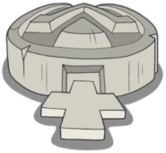Goopy tombstone