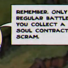 King Dice's response to the player defeating a boss on the Simple difficulty.