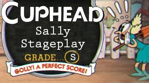 Cuphead - S-Rank on Sally Stageplay in Dramatic Fanatic (Expert Difficulty, Perfect Score)