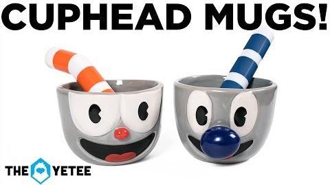 Cuphead and Mugman ceramic mug set!