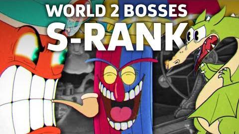 Cuphead - All World 2 Bosses (Expert Mode, S-Rank)