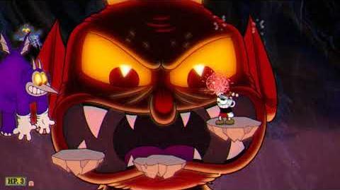 Cuphead - The Devil (A Grade)
