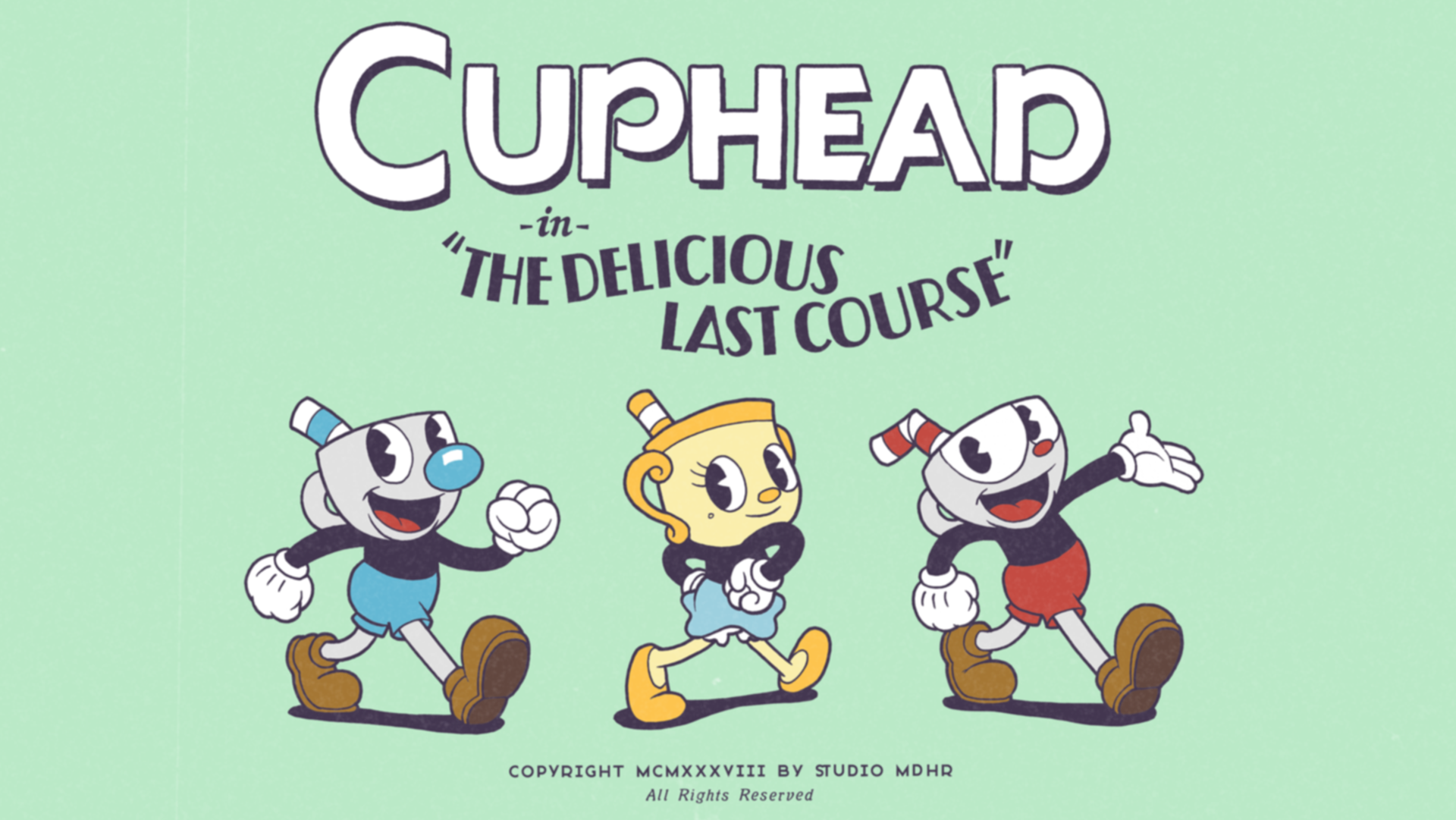 "xbox one exclusive games Cuphead ""The Delicious Last Course"""