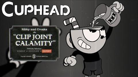 "Cuphead - Ribby & Croaks (Frog Boss) Expert ""S"" Rank"