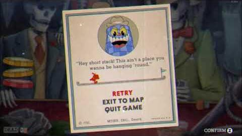 """Cuphead - """"The King's Court"""" Game Over Screen Version"""