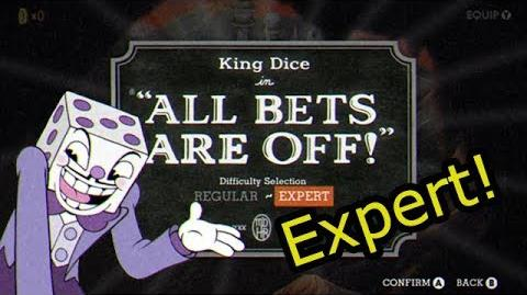 Cuphead - All Bets Are Off -Expert-