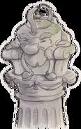 Statue kettle