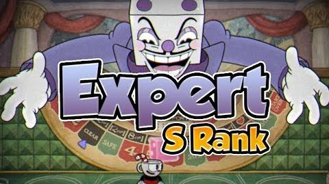 "Cuphead - ""King Dice"" Boss - Expert S Rank (No damage)"