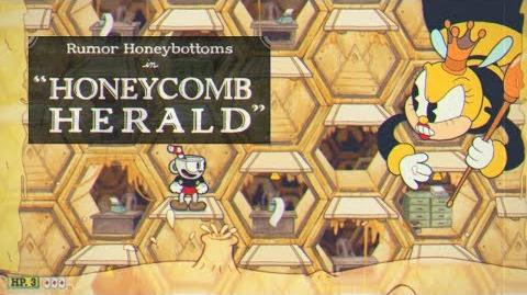 Cuphead - Rumor Honeybottoms in Honeycomb Harold